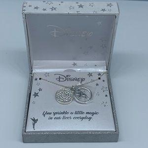 NEW DISNEY LAROCKS Tinker Bell Peter Pan necklace